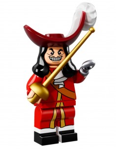 LEGO Série Disney - Captain Hook - 71012-16