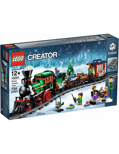 LEGO Exclusifs - Le train de Noël - 10254