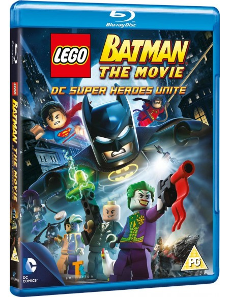 LEGO VIDEO - Blu-ray Batman The movie DC Super Heroes Unite - 0003