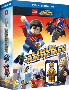 LEGO VIDEO - Coffret DVD La Ligue des Justiciers L'attaque de la Légion Maudite [+ Goodies] - 0008