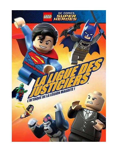 LEGO VIDEO - DVD La Ligue des Justiciers - L'attaque de la Légion Maudite - 0009