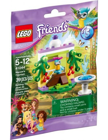 LEGO Friends - Le Perroquet et Sa Fontaine - 41044