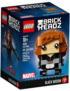 LEGO BrickHeadz - Black Widow - 41591