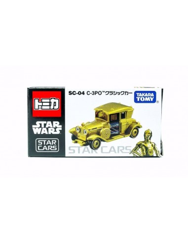 Les véhicules TOMICA - Star Cars C-3PO - SC-04