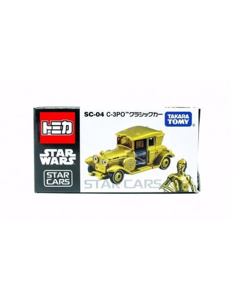 Tomica Star Wars - Takara TOMY Tomica Star Wars SC-04 Star Cars C-3PO - SC-04