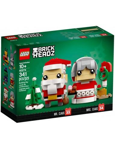 LEGO BrickHeadz - Le père et la mère Noël - 40274