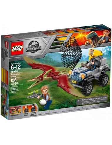 LEGO Jurassic World - La course-poursuite du Ptéranodon - 75926