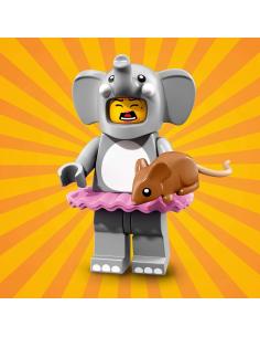 LEGO Série 18 - Elephant Girl - 71021-01