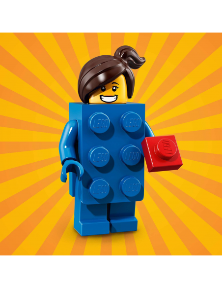 LEGO Série 18 - Brick Suit Girl - 71021-03