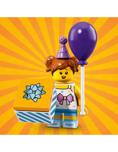 LEGO Série 18 - Birthday Party Girl - 71021-06