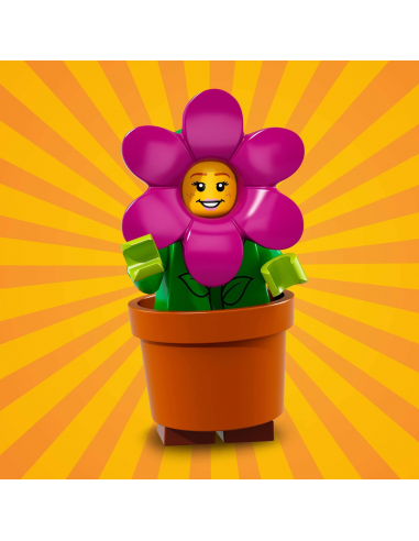 LEGO Série 18 - Flower Pot Girl - 71021-14