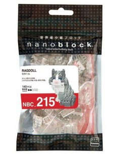 Nanoblock - Ragdoll - NBC215