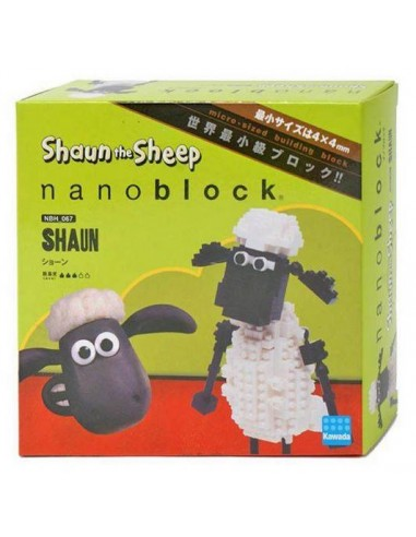 Nanoblock - Shaun the Sheep Shaun - NBH067