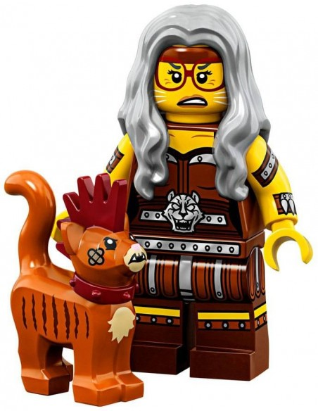 LEGO Série LEGO Movie 2 - Sherry Scratchen-Post & Scarfield - 71023-06