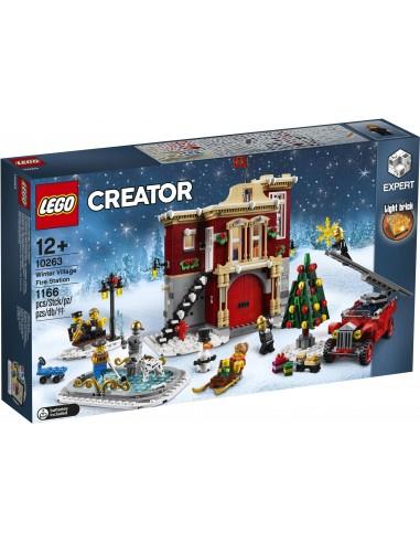 LEGO Exclusifs - La caserne des pompiers - 10263