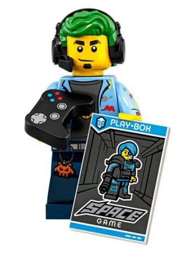 LEGO Série 19 - Video Game Champ - 71025-01