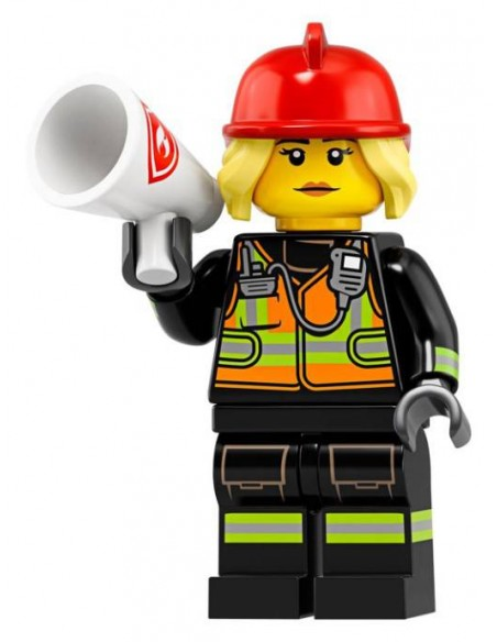 LEGO Série 19 - Fire Fighter - 71025-08