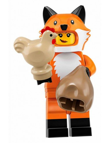 LEGO Série 19 - Fox Costume Girl - 71025-14