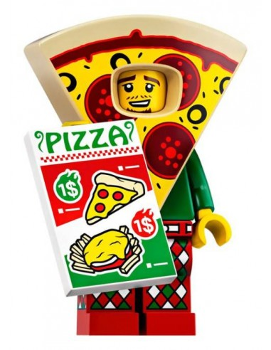 LEGO Série 19 - Pizza Costume Guy - 71025-10