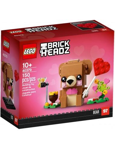 LEGO BrickHeadz - L'ours de la Saint-Valentin - 40379