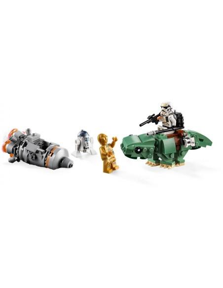 LEGO Star Wars - Capsule de sauvetage contre Microfighter Dewback - 75228