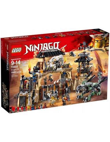 LEGO Ninjago - La tanière du dragon - 70655