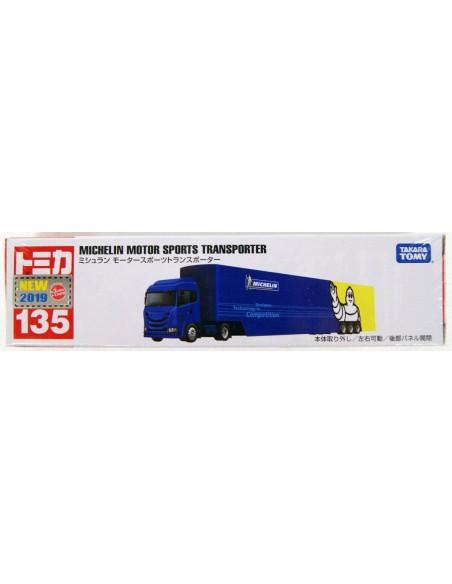 Tomica - Michelin Motor Sports Transporter - TT135