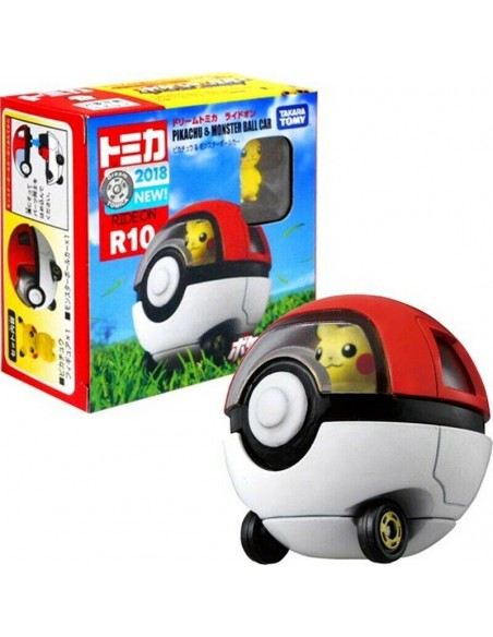 Les véhicules TOMICA - Pikachu & Monster Ball Car - TTR10