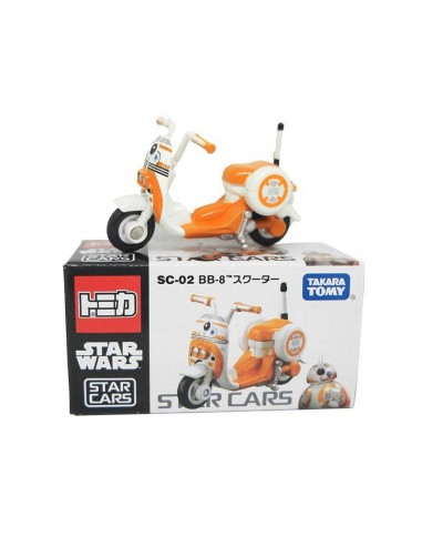 Tomica Star Wars - Takara Tomy Tomica Star Wars Star Cars Sc-02 BB-02 Scooter - SC-02B