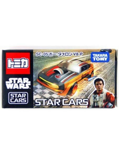 Tomica Star Wars - Starwars Tomica Sc-05 Disney Star Cars Poe Dameron V8-P - SC-05B