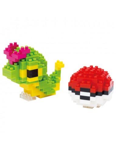 Nanoblock - Chenipan et Poké Ball - NBPM010
