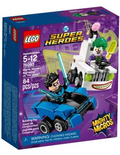 LEGO Super Heroes - Nightwing contre Le Joker - 76093