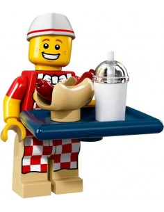 LEGO Série 17 - Hot Dog Man - 71018-06
