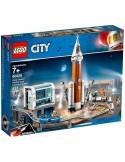 LEGO City - La fusée spatiale et sa station de lancement - 60228