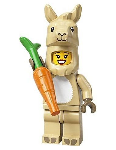 LEGO Série 20 - Llama Costume Girl - 71027-07