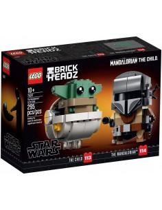 LEGO BrickHeadz - Le Mandalorien et l'Enfant - 75317