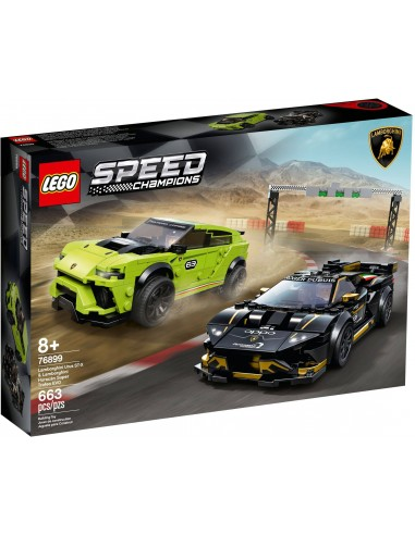 LEGO Speed Champions - Lamborghini Urus ST-X & Huracán Super Trofeo EVO - 76899