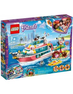 LEGO Friends - Le bateau de sauvetage - 41381