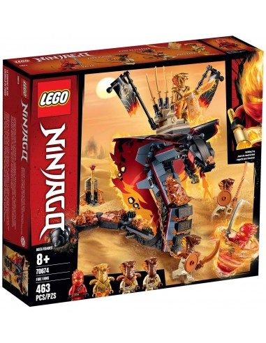 LEGO Ninjago - Croc' feu - 70674
