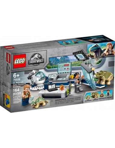 LEGO Jurassic World - Le labo de Dr WU - l'évasion des bébés Dinosaures - 75939