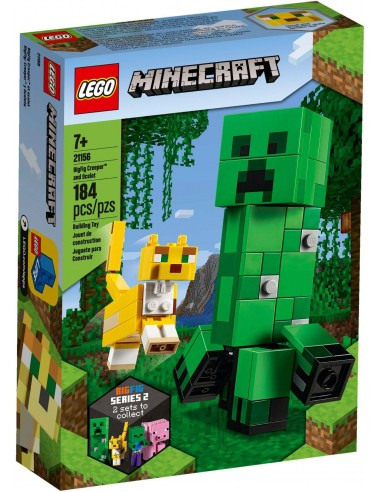 LEGO Minecraft - Creeper et Ocelot - 21156