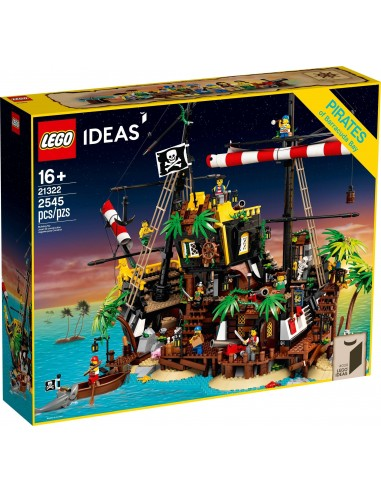 LEGO Ideas - Les pirates de la baie de Barracuda - 21322