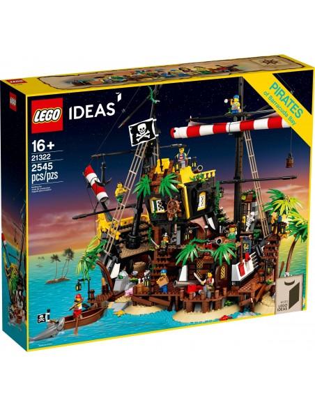LEGO Ideas - Les pirates de la baie de Barracuda - 21322