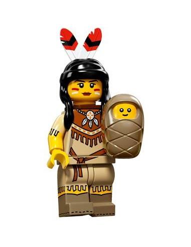LEGO Série 15 - La femme tribale -...