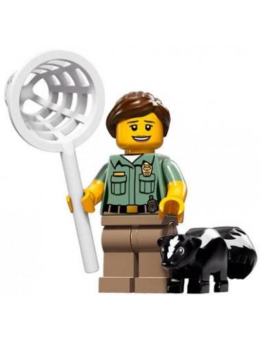 LEGO Série 15 - L'agent de contrôle des animaux - 71011-08