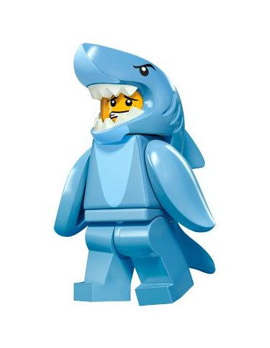 LEGO Série 15 - Shark Suit Guy -...