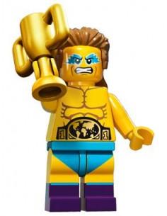 LEGO Série 15 - Le champion de lutte - 71011-14