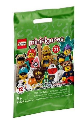 Sachet de minigurine LEGO série 21